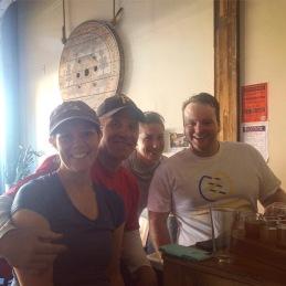 Runners enjoy post-run brews at Allegheny City Brewing