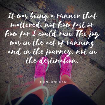 Being a runner